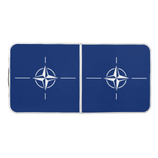 NATO Flag Beer Pong Table