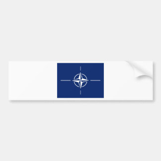 NATO Flag Bumper Sticker
