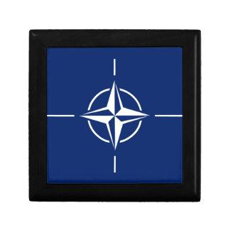 NATO Flag Keepsake Box