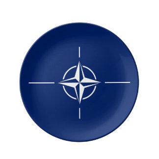 NATO Flag Plate