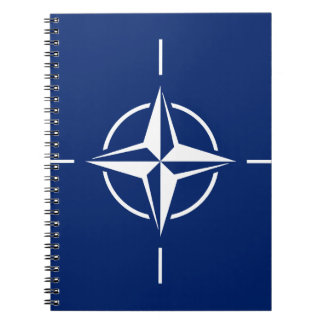 NATO Flag Spiral Notebook
