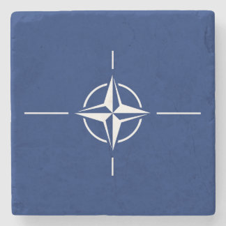 NATO Flag Stone Coaster