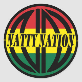 NATTY Logo Sticker
