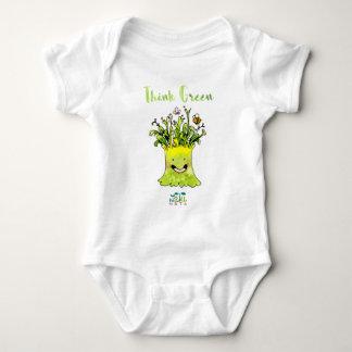 NATU NATU Think Green Baby Bodysuit