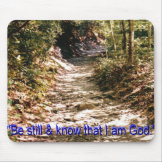 Natue Walk with God Mouse Pad
