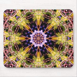 Natural Atom Mandala Mouse Pad