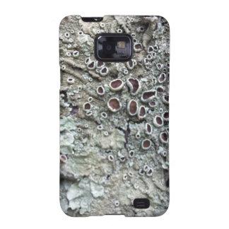 Natural Australian Lichen growing on fallen tree Samsung Galaxy S2 Cover