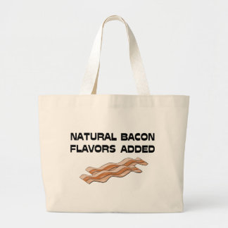 Natural Bacon Flavors Added Canvas Bags