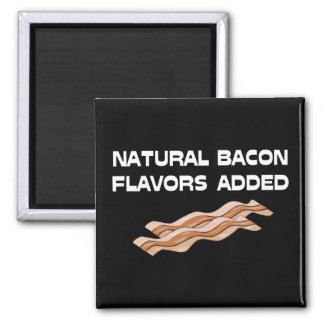 Natural Bacon Flavors Added Magnet