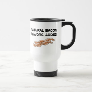 Natural Bacon Flavors Added Mugs
