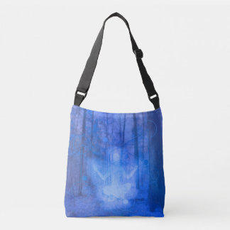 Natural Balance (blue) Crossbody Bag