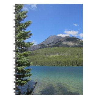 Natural Banff Landscape NoteBook
