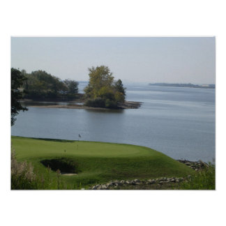 Natural Beauty Golf Hole Print