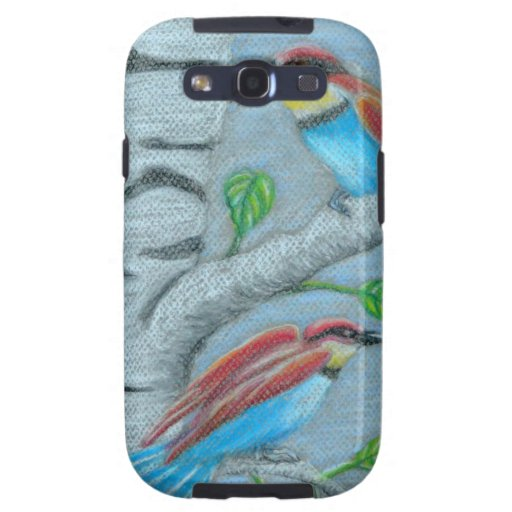 natural birds galaxy SIII covers
