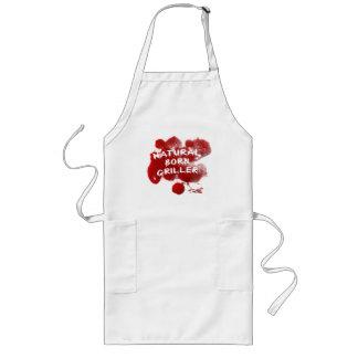 NATURAL BORN GRILLER - Funny Blood apron