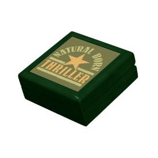 Natural Born Thriller custom gift box