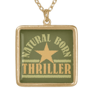 Natural Born Thriller custom necklace