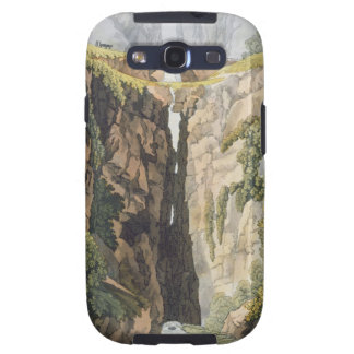 Natural Bridge, Valle d'Icononzo (colour litho) Samsung Galaxy S3 Covers