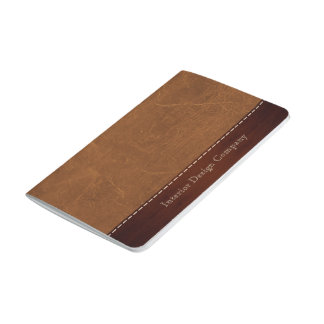 Natural Brown leather look Journal