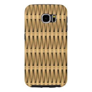Natural cane wicker samsung galaxy s6 cases