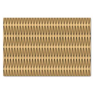 Natural cane wicker tissue paper