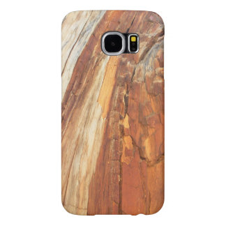 Natural Cedar Wood Grain Samsung Galaxy S6 Cases