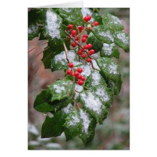 Natural Christmas Card
