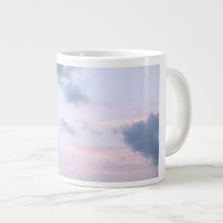 natural  collection. clouds sky giant coffee mug