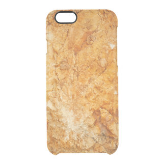 natural  collection. golden rock. Greece Clear iPhone 6/6S Case