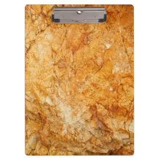 natural  collection. golden rock. Greece Clipboard