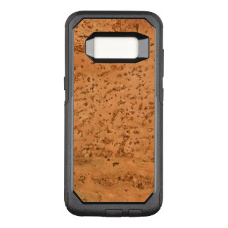 Natural Cork Look Wood Grain OtterBox Commuter Samsung Galaxy S8 Case