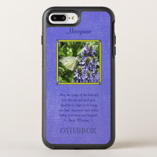 Natural Dainty Butterfly Moth With Irish Blessing OtterBox Symmetry iPhone 7 Plus Case