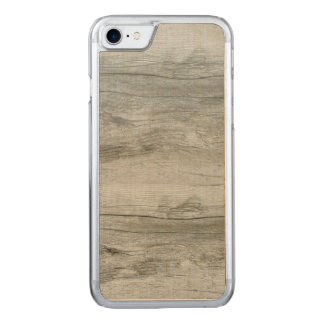 Natural Driftwood Background Texture Carved iPhone 7 Case