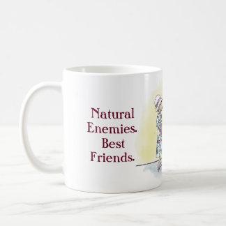 Natural Enemies. Best Friends. Coffee Mug
