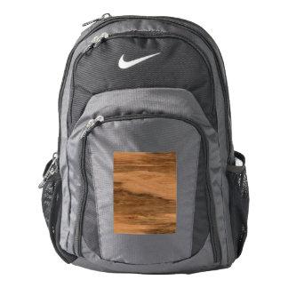 Natural Eucalyptus Wood Grain Look Backpack