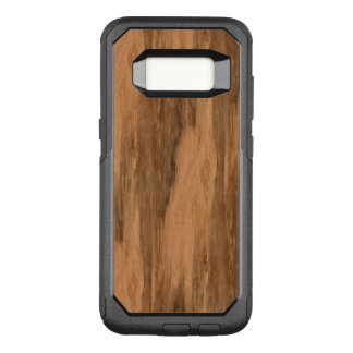 Natural Eucalyptus Wood Grain Look OtterBox Commuter Samsung Galaxy S8 Case