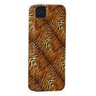 Natural Faux Tiger Fur iPhone 4 Case