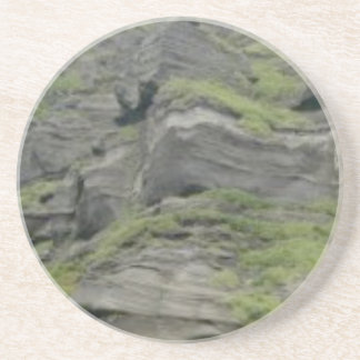 natural folds in stone coaster