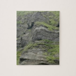 natural folds in stone jigsaw puzzle