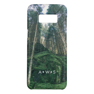 Natural Forest Scenery Personalized Initials Case-Mate Samsung Galaxy S8 Case