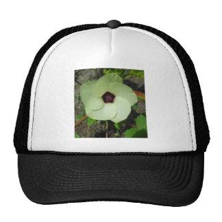 Natural Green Flower Trucker Hat