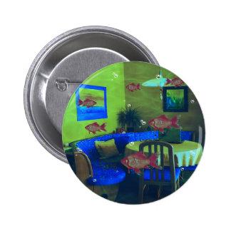 Natural habitat 2 inch round button