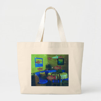 Natural habitat large tote bag