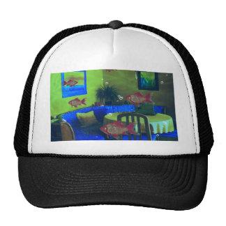 Natural habitat trucker hat