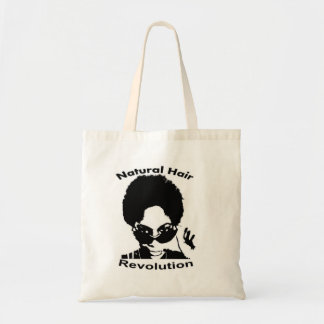 Natural Hair Revolution Budget Tote Bag