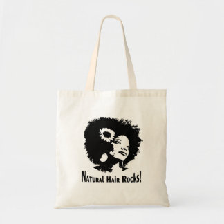 Natural Hair Rock! Tote Bag