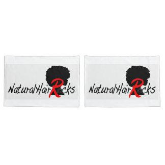 Natural Hair Rocks 2 pillow cases (standard size) Pillowcase