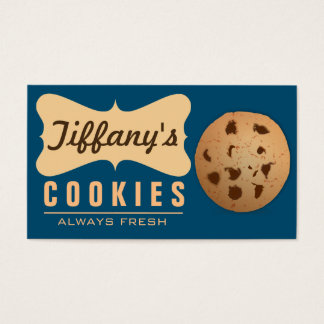 Natural | Homebaked | Gourmet | Handmade Cookies Business Card
