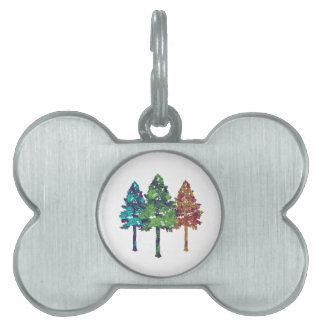 Natural Hues Pet ID Tag