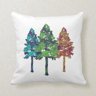 Natural Hues Throw Pillow